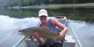 White River Brown Trout Summer Fishing