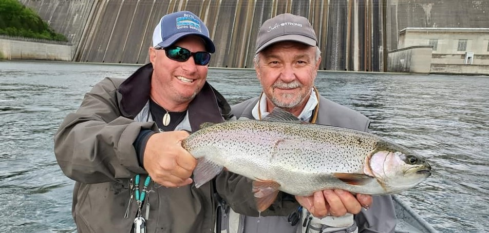 Arkansas Trout Fishing - Bull Shoals Dam - Trout fishing guides.